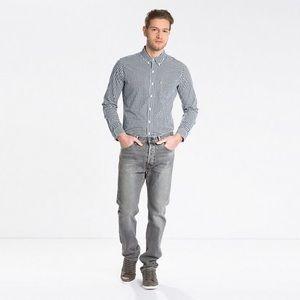 501 Stretch Jeans in Grey Wash